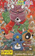 Télécarte Japon / 110-176665 - MANGA By MIKIO IGARASHI - Manchot Ours - Penguin & Raccoon Japan Phonecard - GANGAN 8133 - Comics