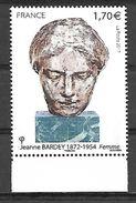 France 2017 - Yv N° 5154 ** - Jeanne Bardey (sculptrice) (Mi N° 6768) - Unused Stamps