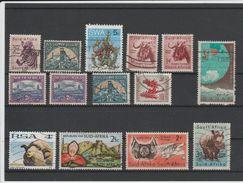 AFRIQUE DU SUD - LOT DE TIMBRES OBLITERES - Afrique Du Sud (1961-...)