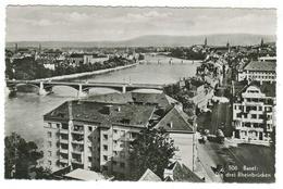 Suisse // Schweiz // Switzerland // Bâle-Ville  //  Basel, Die Drei Rheinbrücken - BS Bâle-Ville