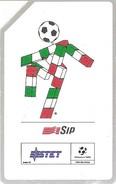 *ITALIA - SIP: ITALIA '90 - MASCOTTE CIAO* - Scheda Usata (variante 77a) - Fouten & Varianten