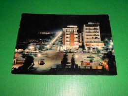 Cartolina Riccione - Notturno 1966 - Rimini