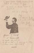17716# CORRESPONDANCE Datée De SANZEY 1900 MEURTHE ET MOSELLE HAMONVILLE VILLEY ST ETIENNE ASSASIN CONSTANT ANDILLYS - Manuscrits