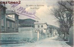 UN SALUTO DA SPOTORNO VIA DI NIZZA LIGURIA ITALIA - Italia