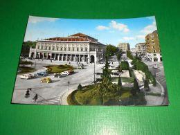 Cartolina Reggio Emilia - Teatro Municipale E Via Lazzaro Spallanzani 1963 - Reggio Nell'Emilia