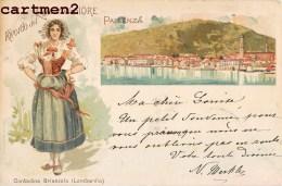 PALLANZA RICORDO DEL LAGO MAGGIORE CONTADINA BRIANZOLA LOMBARDIA GRUSS ITALIA - Verbania