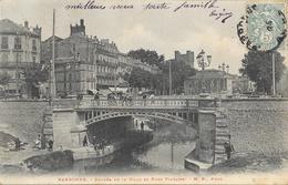 Narbonne - Entrée De La Ville Et Pont Voltaire - Carte M.P. Dos Simple - Narbonne