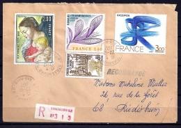TP N° 1958/1951/1931/1957  SUR L. REC. DU 22.12.77 - Marcophilie (Lettres)