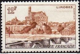 France - N° 1019 * Site - Monument - Limoges - Pont Saint Etienne Et La Cathédrale - France