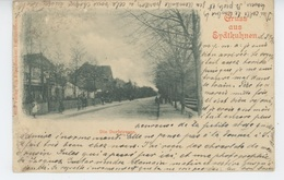 RUSSIE - LITUANIE - ALLEMAGNE - EYDTKUHNEN - TCHERNYCHEVSKOIE - Die Dorfstrasse (1899) - Russia