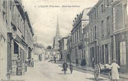 VENDEE - 85 - LUCON - Rue Des Sables - Animation - Lucon