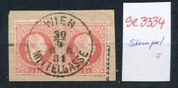 Österreich-Klassik -Stempel Schönheit   ( Se3334 ) Siehe Scan - 1850-1918 Impero