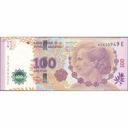 TWN - ARGENTINA 358b - 100 Pesos 2013 60th Ann. Of Eva Peron's Death - Serie E - Signatures: Del Pont & Boudou UNC - Argentina