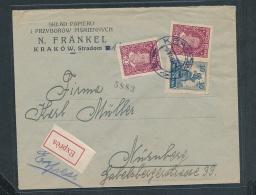 Polen R.-Brief-Beleg ( Ze5477 ) Siehe Scan - 1919-1939 Republik