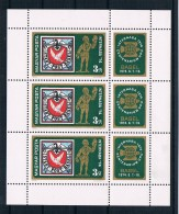 Ungarn 1974 UPU Mi.Nr. 2956 Kleinbogen ** - Ungebraucht