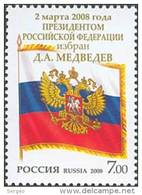 Russia 2008 Russian Prezident D. A. Medvedev. - Unused Stamps