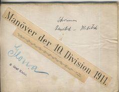 Manöver Der 10. Division 1911 -- Schwerin-Rewitsch-Militsch  (50399-46) - Karten