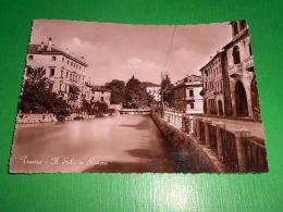 Cartolina Treviso - Il Sile In Riviera 1951 - Treviso