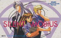 Télécarte Japon / 110-011 - MANGA - SILENT MÖBIUS By KIA ASAMIYA - ANIME Japan Phonecard - BD COMICS TK - 8136 - Comics