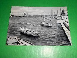 Cartolina Rimini - Porto Canale E Faro 1955 - Rimini