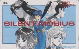Télécarte Japon / 110-011 - MANGA - SILENT MÖBIUS By KIA ASAMIYA  ** ONE PUNCH ** - ANIME Japan Phonecard - 8138 - Comics