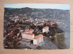 CP CRANSAC-LES-THERMES 12 VUE AERIENNE - Francia