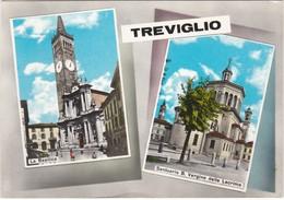 CARTOLINA - POSTCARD - BERGAMO - TREVIGLIO - Bergamo