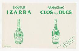 Buvard - Liqueur IZARRA - Armagnac CLOS Des DUCS - Buvards, Protège-cahiers Illustrés