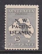 New Guinea SG 94 1915 Kangaroos 2d Grey Mint Hinged - Papua New Guinea