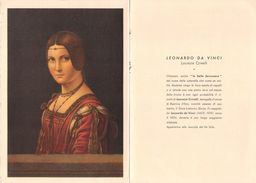 1536 02 MILANO ZOJA LABORATORIO FARMACEUTICO - LEONARDO DA VINCI LA BELLA FERRONIERA CRIVELLARI - Pubblicitari