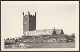 St Sennen's Church Near Land's End, Cornwall, C.1950 - RP Postcard - Other
