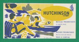 Buvard - HUTCHINSON Pour Le Camping - Buvards, Protège-cahiers Illustrés