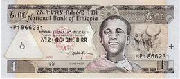 Etiopía 2008, 1 Birr (UNC) - CF3136 - Etiopía