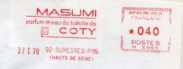 """Toilette, Eau, Parfum, """"Masumi Coty"""", Hauts De Seine, Suresnes - EMA Havas M - Enveloppe   (S142) - Fragrances"""