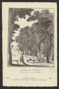 D 75 - ANCIEN PARIS - 673 - Le Jardin Des Tuileries à L'époque Du Directoire - France
