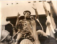 Photo Cotonou Coup D'Etat Novembre 1963 Presse Afrique Française Photographie Colonel Soglo Dahomey Benin - Lieux