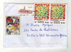 Enveloppe Oblitération LA POSTE 39002A-01 13/06/2017 - Postmark Collection (Covers)