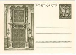 TY75      Germany-1943 WW 2 Unused 6+4 Pf Olive Green Goldsmith's Society Postal Stationery Postcard - Ganzsachen