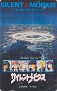 Télécarte Japon / 110-011 - MANGA - SILENT MÖBIUS By KIA ASAMIYA / WITH PHOSPHOR  - ANIME Japan Phonecard - 8147 - Comics