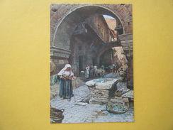 La Maison Médiévale Et La Porte D'Ottavia Par Ettore Roesler Franz. - Places & Squares