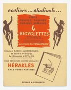 Buvard - HERAKLES Bicyclettes - Buvards, Protège-cahiers Illustrés