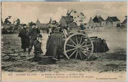 Oorlog 1914 Veldslag Hofstade Artillerie Belgen Message Telephone - Zemst