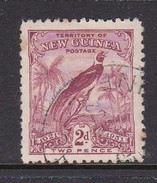 New Guinea SG 152 1931 Raggiana Bird Dated 2d Claret Used - Papua New Guinea