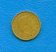 Moneta Da 20 Centesimi -  LUSSEMBURGO  - Anno 2011. - Lussemburgo