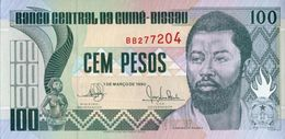 Guinea Bissau 1990, 100 Pesos (UNC) - CF1139 - Guinea–Bissau