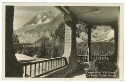 Suisse // Schweiz // Switzerland //  Valais  //  La Fouly, Grand Hôtel - VS Valais
