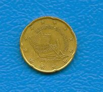 Moneta Da 20 Centesimi - CIPRO  - Anno 2008. - Cipro