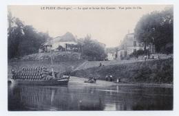 LE FLEIX  24 DORDOGNE PERIGORD GABARRE AU PORT  LE QUAI ET LA RUE DES CANONS - Andere Gemeenten