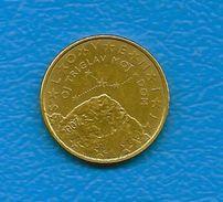 Moneta Da 50 Centesimi - SLOVENIA  - Anno 2007. - Slovenia