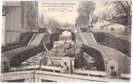 CPA AUDE.CHATEAU DE CHEMINIERES.CASTELNAUDARY.LE MOULIN DU VIVIER - Castelnaudary